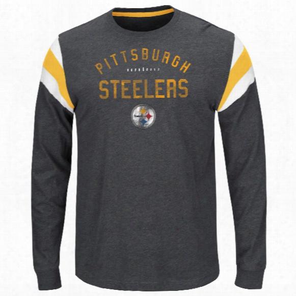Pittsburgh Steelers Showcase Classic Nfl Long Sleebe T-shirt