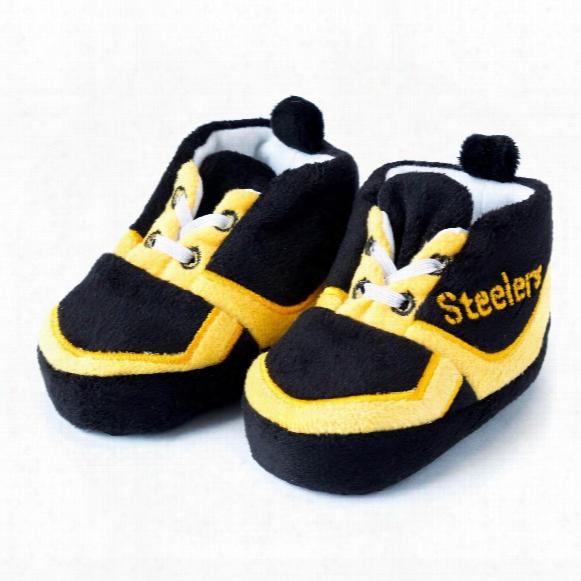 Pittsburgh Steelers Sneaker Baby Booties