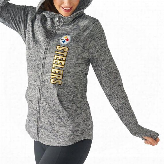 Pittsburgh Steelers Women's Recovery Full Zip Hoodie