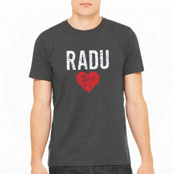 Radulove Vintage Heathered Charcoal T-shirt