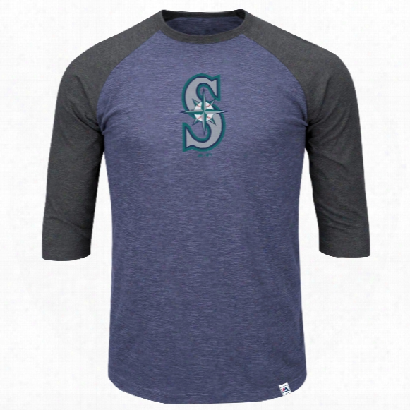 Seattle Mariners Grueling Ordeal 3 Quarter Sleeve T-shirt