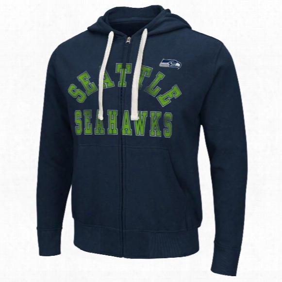 Seattle Seahawks Varsity Full Zip Hoodie