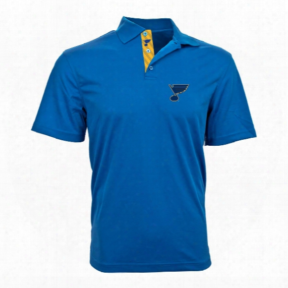 St. Louis Blues Omaha Skate Lace Polo