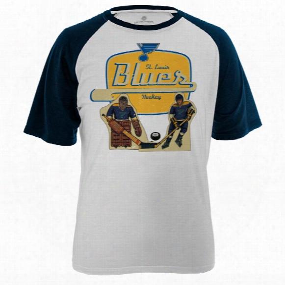 St. Louis Blues Table Top Fx Raglan T-shirt
