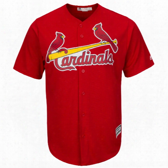 St. Louis Cardinals 2017 Cool Base Replica Alternate Scarlet Mlb Baseball Jersey