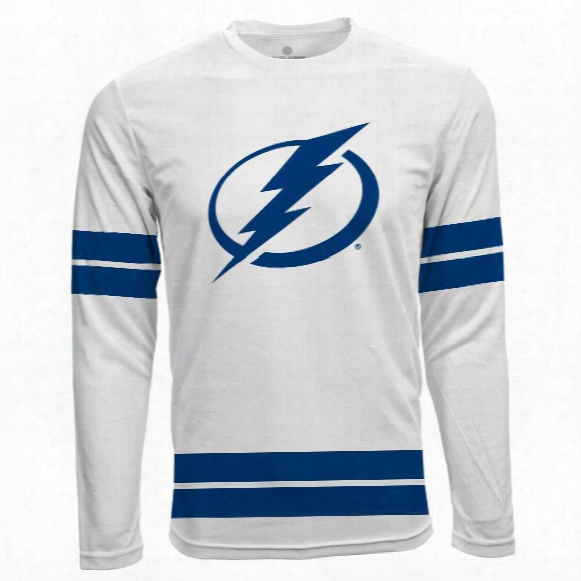 Tampa Bay Lightning Authentic Scrimmage Fx Long Sleeve T-shirt