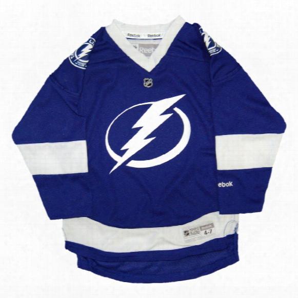 Tampa Bay Lightning Reebok Toddler Replica (2-4t) Home Nhl Hockey Jersey