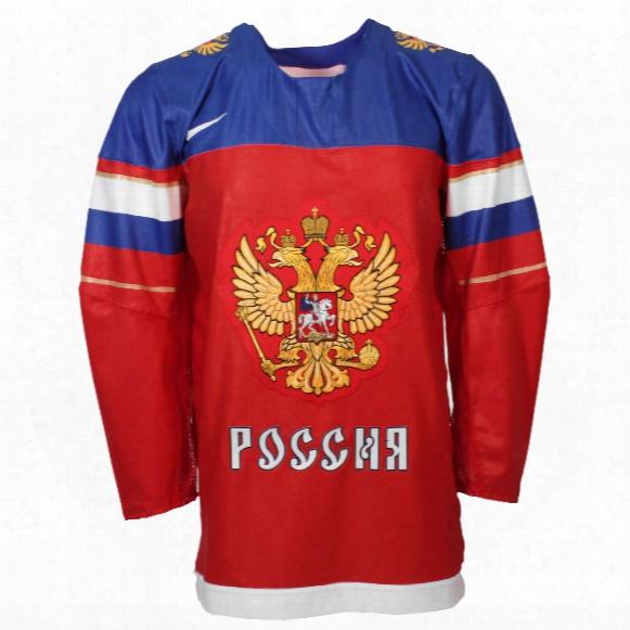 Team Russia Iihf 2016-17 Official Twill Replica Hockey Jersey