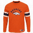 Denver Broncos 2016 Power Hit Long Sleeve NFL T-Shirt With Felt Applique