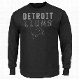 Detroit Lions Written Permission Long Sleeve NFL T-Shirt (Black)