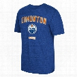 Edmonton Oilers CCM Retro Stitches Tri-Blend T-Shirt