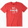Life is Good Men's Mr. Fix It Hammer Crusher Tee