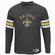 New Orleans Saints 2016 Power Hit Long Sleeve NFL T-Shirt With Felt Applique