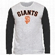 San Francisco Giants Shortstop Long Sleeve Tri-Blend T-Shirt