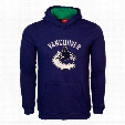 Vancouver Canucks Youth Basic Applique Logo Hoodie - Royal