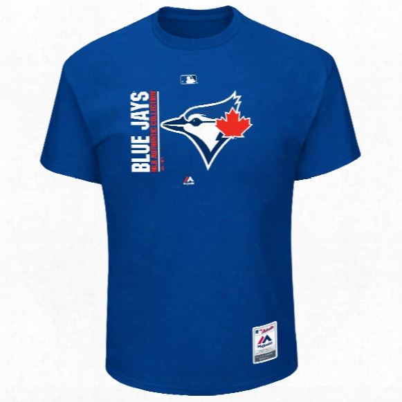 Toronto Blue Jays 2017 Authentic Collection On-field Team Icon T-shirt