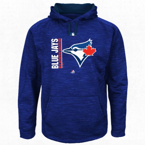 Toronto Blue Jays 2017 Authentic Collection On-field Team Icon Streak Hoodie