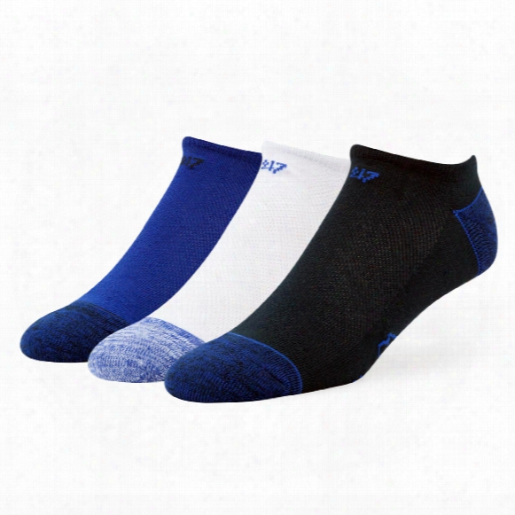 Toronto Blue Jays 3-pack Blade No Show Socks
