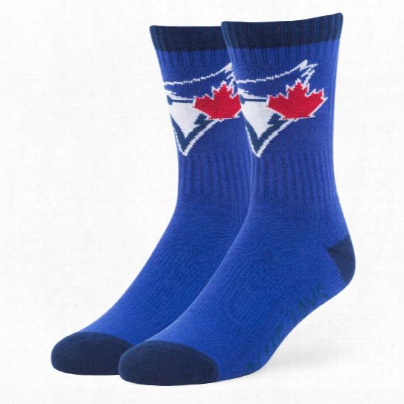 Toronto Blue Jays Bolt Crew Socks