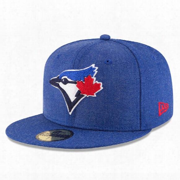 Toronto Blue Jays Heather Crisp 59fifty Fitted Mlb Baseball Cap