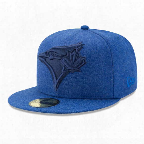 Toronto Blue Jays Heather Ift 59fifty Fitted Mlb Baseball Cap