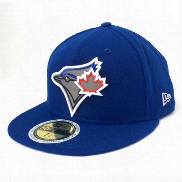 Toronto Blue Jays Mlb Flected Team Trim 59fifty Baseball Cap