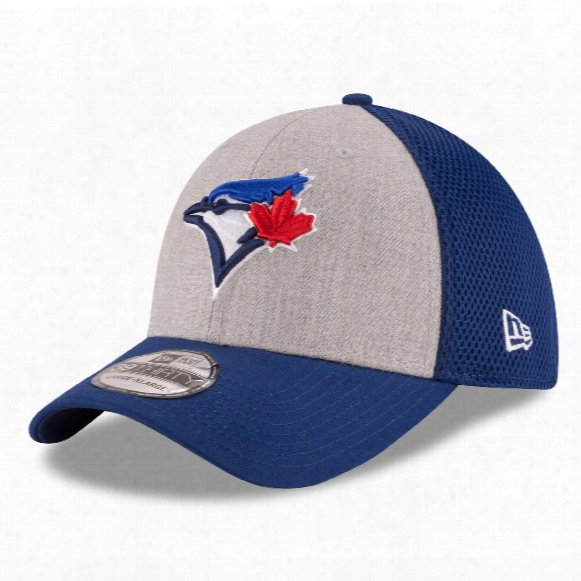 Toronto Blue Jays Mlb New Era Heathered Neo 39thirty Cap
