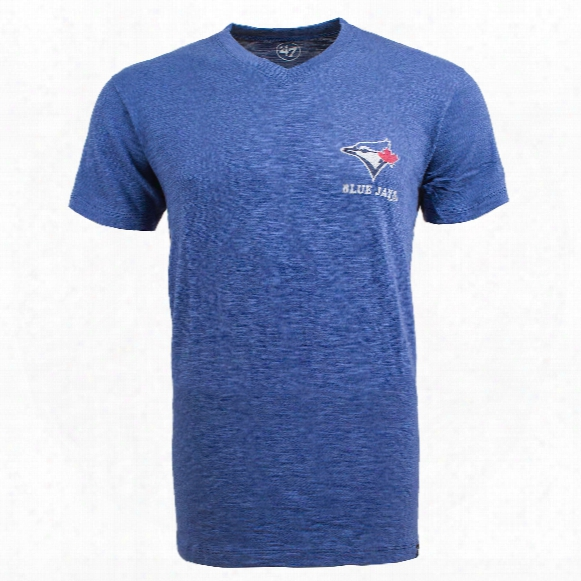 Toronto Blue Jays Rundown Scrum V-neck T-shirt