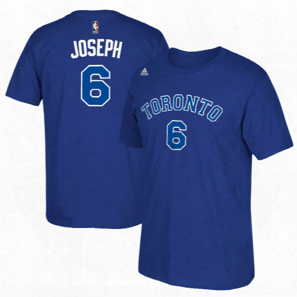 Toronto Huskies Cory Joseph Nba Name & Number T-shirt - Blue