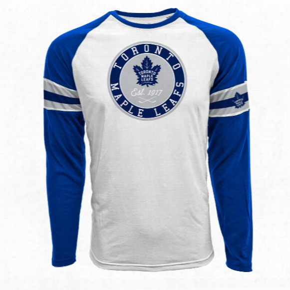 Toronto Maple Leafs Face-off Fx Raglan Long Sleeve T-shirt