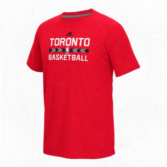 Toronto Raptors Adidas Nba Climalite Ultimate T-shirt