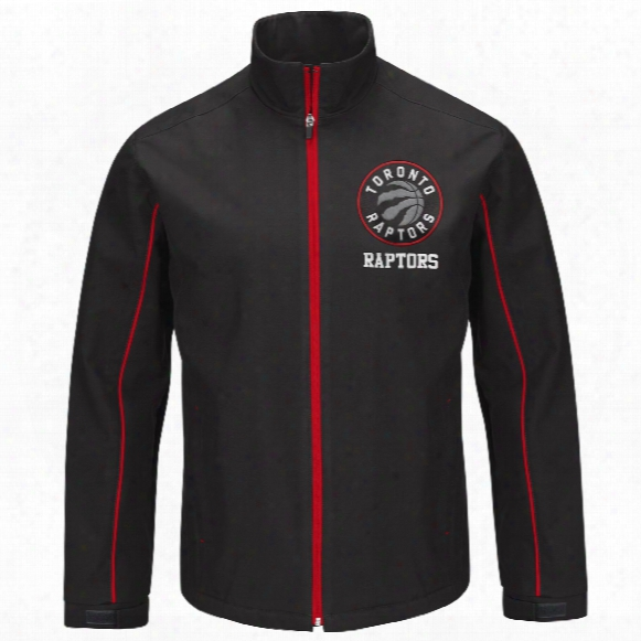 Toronto Raptors Soft Shell Bonded Nba Full Zip Jacket