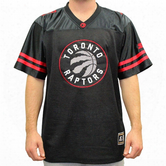 "Toronto Raptors Starter Nba ""blindside"" Football Jersey"