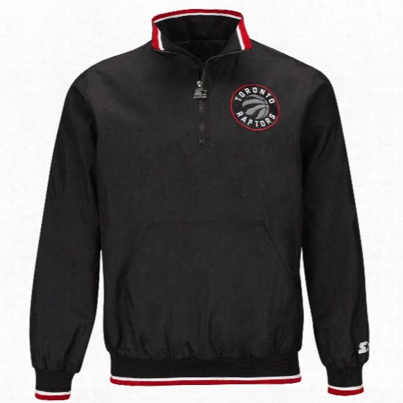 Toronto Raptors Starter The Player Half Zip Pullover Jacket