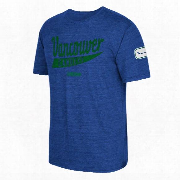 Vancouver Canucks Ccm Strike First Tri-blend T-shirt