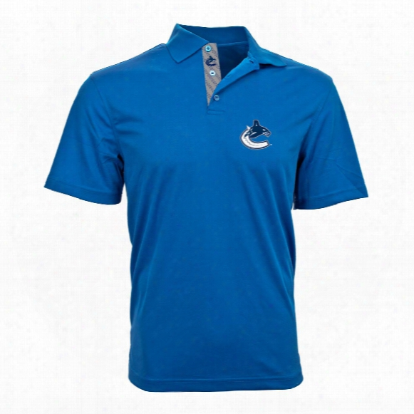 Vancouver Canucks Omaha Skate Lace Polo