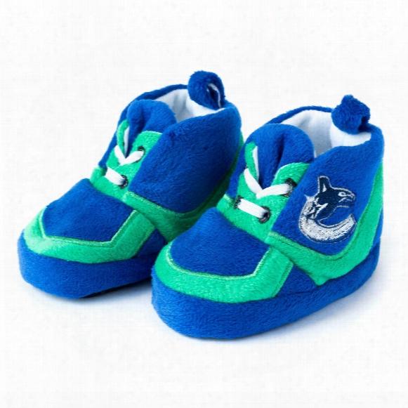 Vancouver Canucks Sneaker Baby Booties