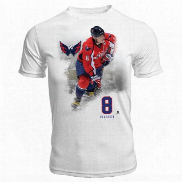 Washington Capitals Alexander Ovechkin Fx Highlight Reel Kewl-dry T-shirt