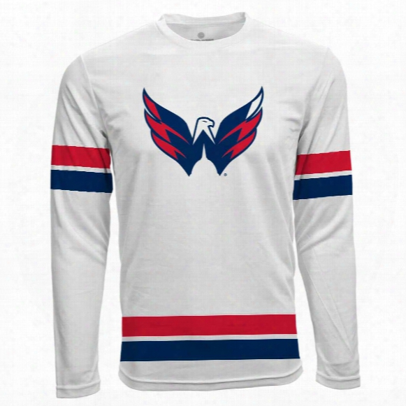 Washington Capitals Authentic Scrimmage Fx Long Sleeve T-shirt