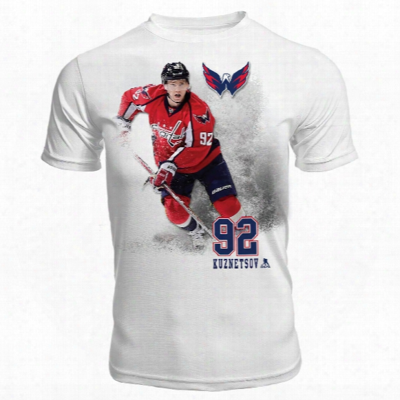 Washington Capitals Evgeny Kuznetsov Fx Highlight Reel Kewl-dry T-shirt