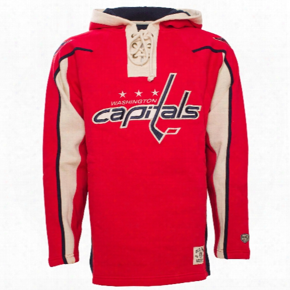 Washington Capitals Heavyweight Jersey Lacer Hoodie
