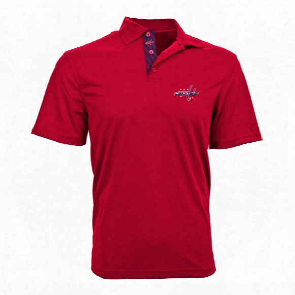 Washington Capitals Omaha Skate Lace Polo