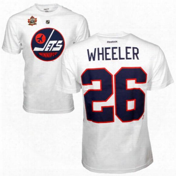 Winnipeg Jets Blake Wheeler 2016 Nhl Heritage Classic Player Name And Number