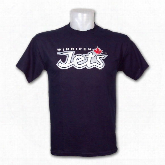 Winnipeg Jets Wordmark T-shirt (navy)