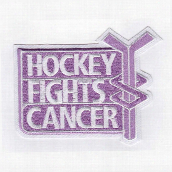 2014-15 Nhl Hockey Fights Cancer Game Jersey Patch