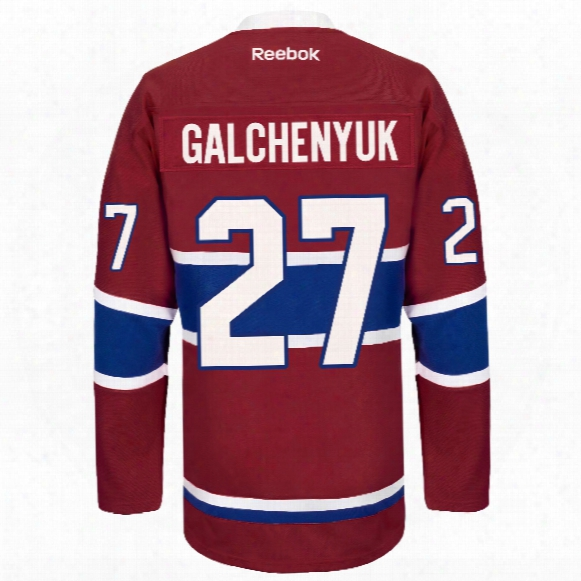Alex Galchenyuk Montreal Canadiens Reebok Premier Replica Home Nhl Hockey Jersey