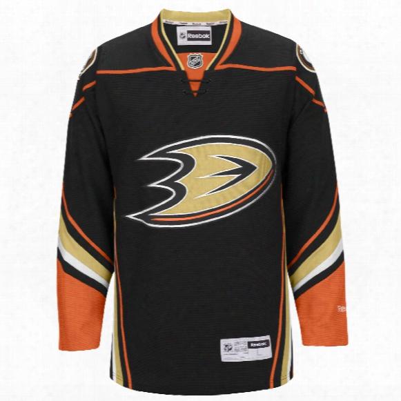 Anaheim Ducks Reebok Premier Youth Replica Home Nhl Hockey Jersey