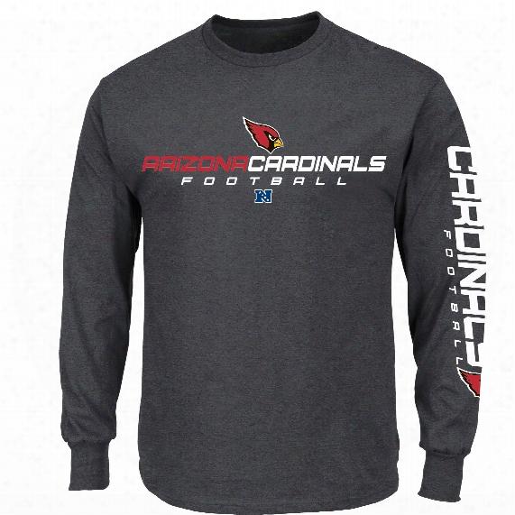 Arizona Cardinals Dual Threat Iv Long Sleeve Nfl T-shirt