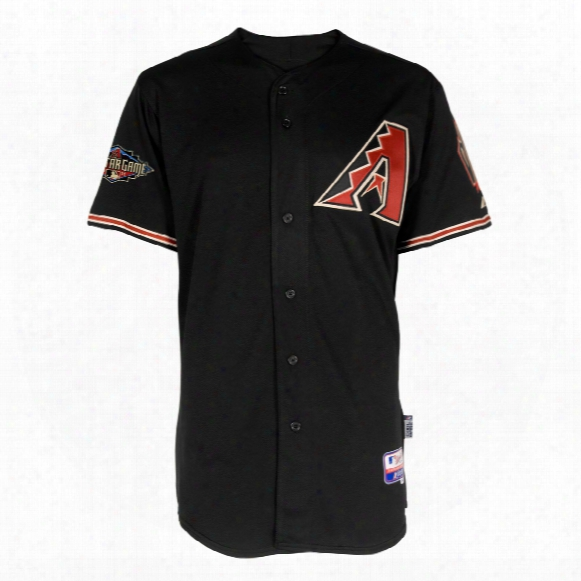 Arizona Diamondbacks Authentic Cool Base Alternate Mlb Baseball Jersey (black)