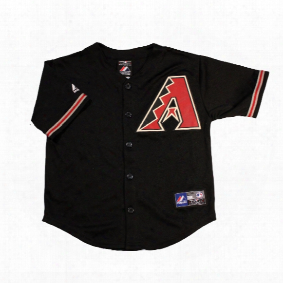 Arizona Diamondbacks Majestic Child Alternate Replica Baseball Jersey (black)